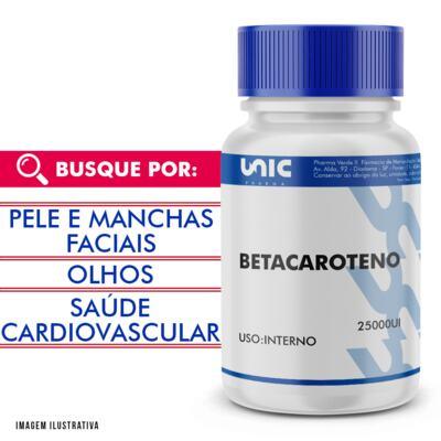 Imagem 1 do produto Betacaroteno 25000ui - 120 Cápsulas