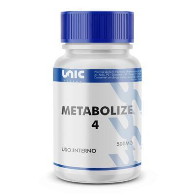 Imagem 2 do produto Metabolize 4 500mg com selo de autenticidade - 90 Cápsulas