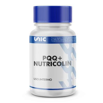 Imagem 2 do produto Pqq + nutricolin  com selo de autenticidade - 120 Cápsulas
