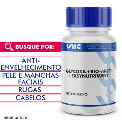 Imagem 1 do produto Glycoxil + exsynutriment + bio-arct com selo de autenticidade - 60 Cápsulas