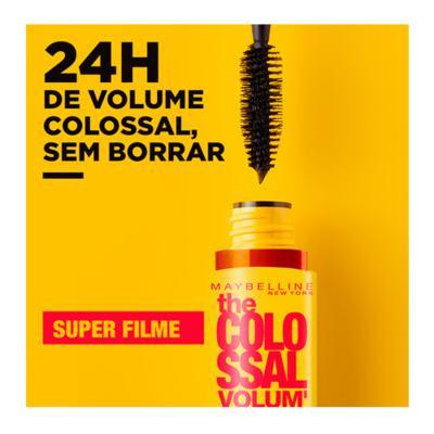 Imagem 8 do produto Máscara para Cílios Maybelline Colossal Smudge Proof Super Filme 9,2ml - 9,2ml