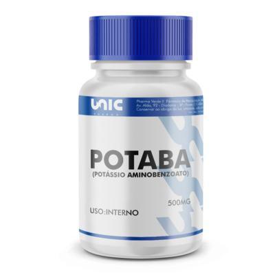 Imagem 2 do produto Potaba (potássio Aminobenzoato) 500mg - 90 Cápsulas