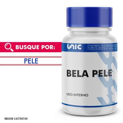 """Imagem 1 do produto Composto Anti Manchas Faciais """"Bela Pele"""" - 60 Cápsulas"""