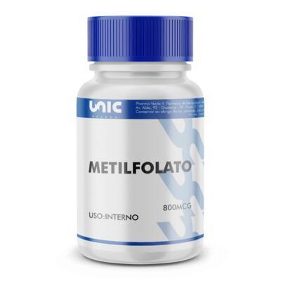 Imagem 2 do produto METILFOLATO 800MCG - 90 Cápsulas