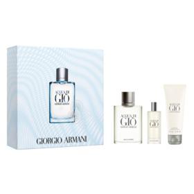 Acqua Di Giò Homme Eau de Toilette Giorgio Armani Kit - Perfume + Gel de Banho + Miniatura - Kit