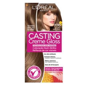 Coloração Creme L'Oréal Paris Casting Creme Gloss - 700 Louro Natural | 1 unidade