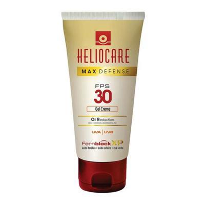 Imagem 1 do produto Heliocare Max Defense Oil Reduction Gel Creme FPS 30 Heliocare - Protetor Solar Fps 30 - 50g