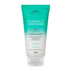 Sabonete Facial Profuse Puriance - líquido, 60mL - 60ml