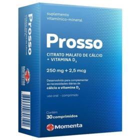 Prosso - 250mg + 2,5mg, caixa com 30 comprimidos