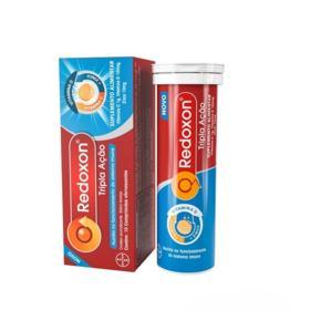 Redoxon Tripla Ação - Sabor Laranja   10 comprimidos efervescentes