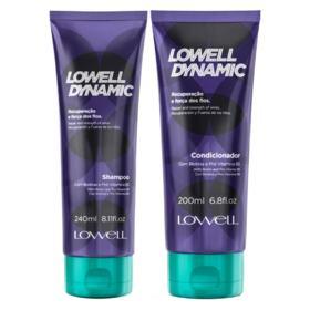 Lowell Dynamic Kit - Shampoo + Condicionador - Kit