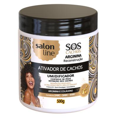 Ativador Salon Line Creme Cachos - Sos Reconstrução | 500g