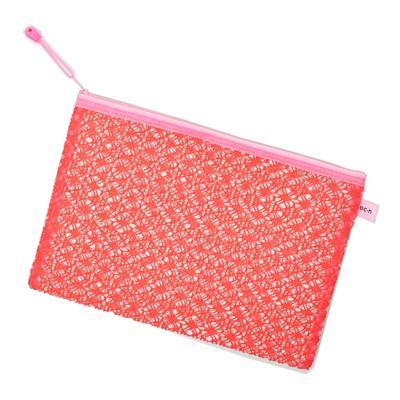 Imagem 2 do produto Nécessaire Océane - Lace Bag Pink G - 1 Un