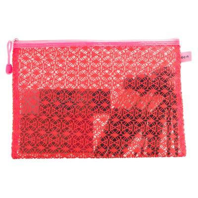 Imagem 3 do produto Nécessaire Océane - Lace Bag Pink G - 1 Un