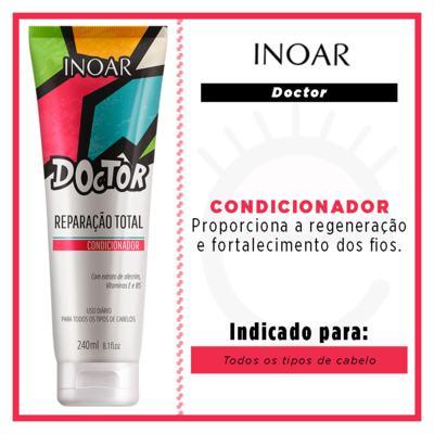 Imagem 2 do produto Inoar Doctor - Condicionador Reparação Total - 240g