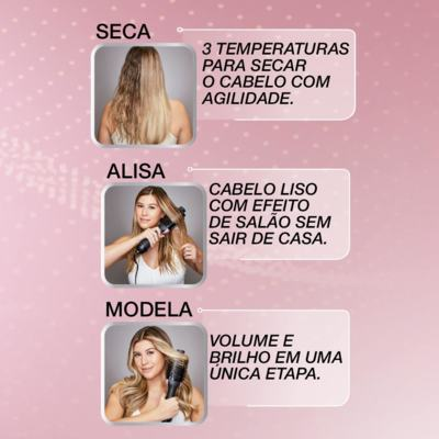Imagem 4 do produto Escova 3 em 1 Relax Beauty - 110V
