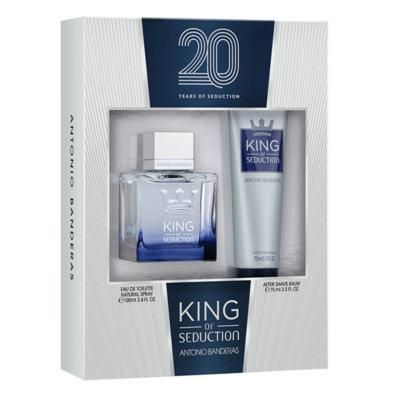 Imagem 4 do produto Antonio Banderas King of Seduction Kit - Eau de Toilette + Pós-Barba - Kit