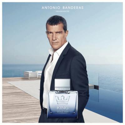 Imagem 5 do produto Antonio Banderas King of Seduction Kit - Eau de Toilette + Pós-Barba - Kit