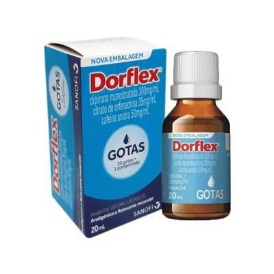 Imagem 1 do produto Dorflex 300+35+50mg/mL Solução Oral 20mL