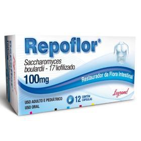 Repoflor - 100mg | 12 cápsulas