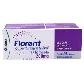 Florent - 200mg | 6 cápsulas gelatinosas duras