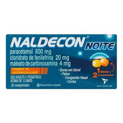 Imagem 1 do produto NALDECON NOITE    24 COMPRIMIDOS -