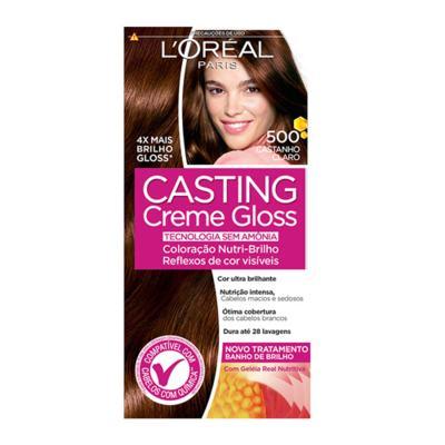 Imagem 4 do produto Coloração Casting Creme Gloss L'Oréal Paris - 500 Castanho Claro