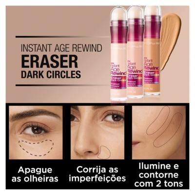 Imagem 4 do produto Corretivo para área dos Olhos Maybelline - Instant Age Eraser - Ivory