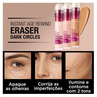 Imagem 4 do produto Corretivo para área dos Olhos Maybelline - Instant Age Eraser - Sand