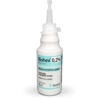 Riohex 0,2% Solução Aquosa Dermo - Suave | 100ml