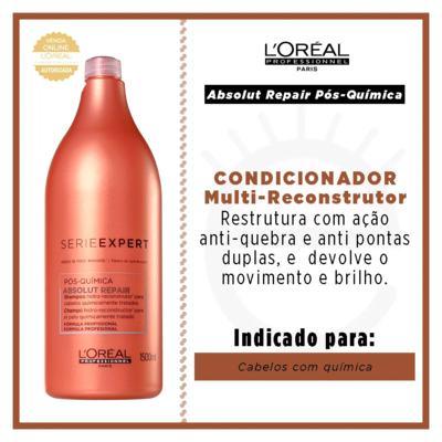 Imagem 6 do produto L'Oréal Professionnel Absolut Repair Pós-Química - Condicionador Multi-Reconstrutor - 1500ml
