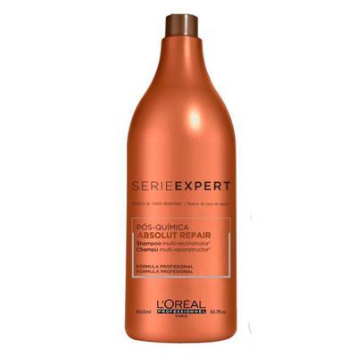 Imagem 6 do produto L'Oréal Professionnel Absolut Repair Pós-Química Kit - Shampoo 1,5L + Condicionador 1,5L - Kit