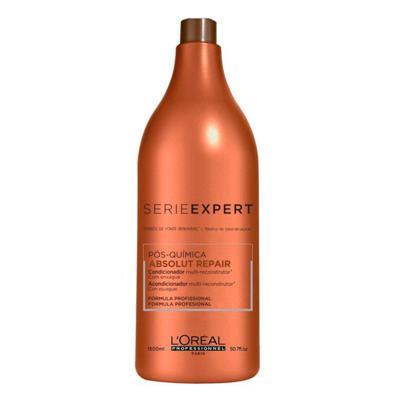 Imagem 7 do produto L'Oréal Professionnel Absolut Repair Pós-Química Kit - Shampoo 1,5L + Condicionador 1,5L - Kit