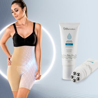 Imagem 23 do produto Shapenow Polishop + Modelador Slim Control Be Emotion - | Shapenow Preto + Slim Control Nude P+P