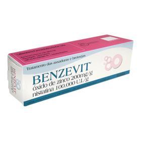 Benzevit - 100.000UI/g + 200mg/g | caixa com 1 bisnaga com 40g de creme de uso dermatológico