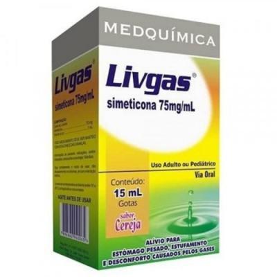 Livgas - 40mg | 20 comprimidos
