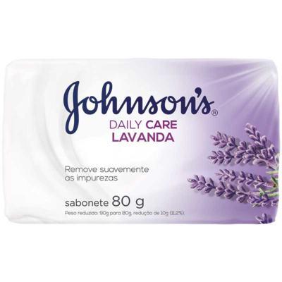 Sabonete Johnsons Barra Daily Care - Lavanda | 80g