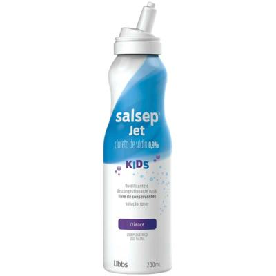 Salsep Jet Kids - Solução Nasal 0.9% | 200ml