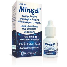 Lubrificante Ocular Mirugell - 5mL