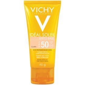 Protetor Solar Facial Ideal Soleil Efeito Base - Fps50 Clara   40g
