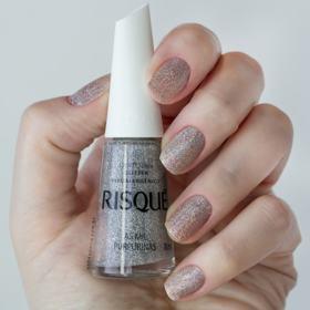 Esmalte Risqué Glitter - As Mil Purpurinas   8ml