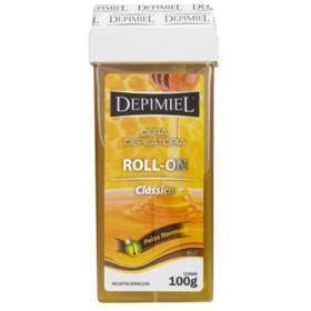 Cera Depilatória Corporal Depimiel - Clássica Roll-on | 100g
