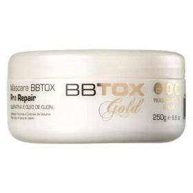 BBTOX Gold Ykas Pro Repair - Máscara de alinhamento capilar - 250g