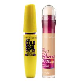 Maybelline Colossal Eraser Kit - Máscara para Cílios + Corretivo Medium - Kit