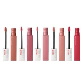 Maybelline Super Stay Matte Ink Kit - 5 Batons Líquidos - Kit