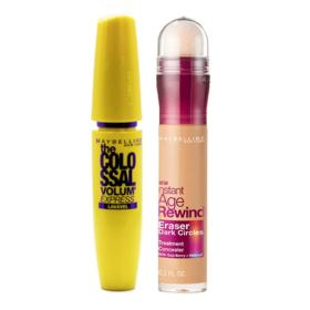 Maybelline Colossal Eraser Kit - Máscara para Cílios + Corretivo Honey