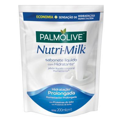 Sabonete Palmolive refil líquido - Nutri-Milk | 200mL
