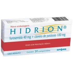 Hidrion - 20 comprimidos