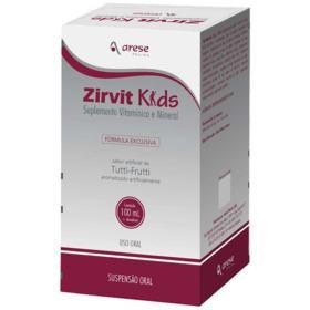Zirvit Kids Suspenção Oral - Tutti-frutti | 100ml