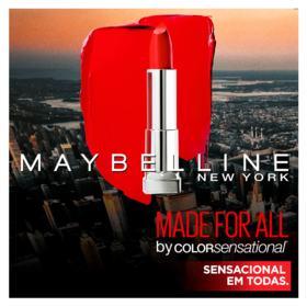 Batom Maybelline Color Sensational Made for All - mauva para mim | 4,2g